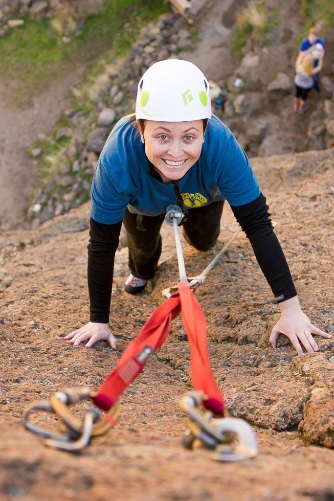 Ali Climbing